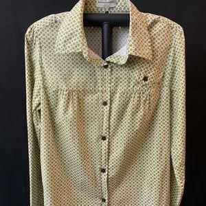 Banana Republic Women's Button Down Shirt, XL